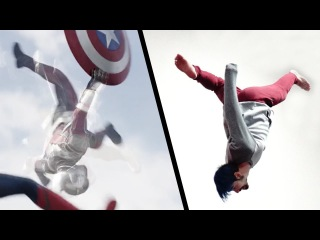 Doing Stunts From Captain America: Civil War (Marvel's Avengers)