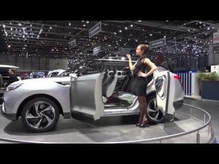 2015 Ssangyong XLV Concept - Geneva Motor Show 2014