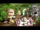 Реклама Киндер Сюрприз 2015 Маша и медведь