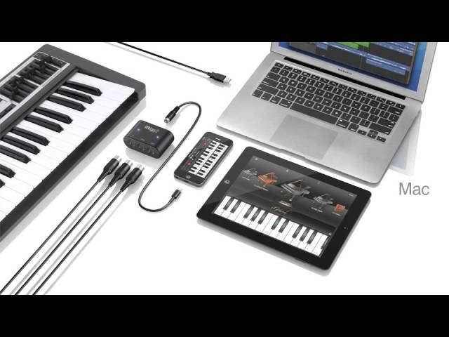 IRig MIDI 2 Universal MIDI interface for iPhone, iPod touch, iPad and MacPC