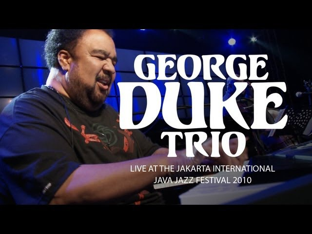 George Duke Trio It's On Live at Java Jazz Festival 2010