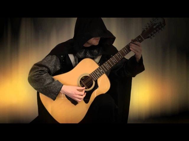 Diablo 2 Rogue Encampment Acoustic Fingerstyle Guitar Tabs Cover by Jonas Lefvert