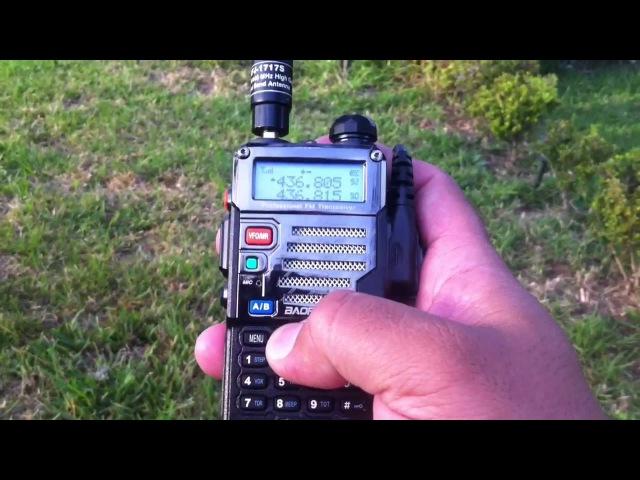 How to Work Amateur Ham Radio Satellite w Baofeng UV5R MFJ on Saudisat SO 50