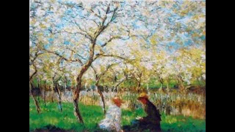 Gabriel FAURE' Pavane Op 50 Paintings By CLAUDE MONET