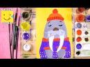 Как нарисовать моржа урок рисования для детей от 4 лет рисуем дома поэтапно