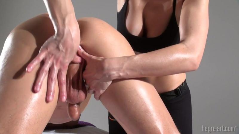 Little Caprice Oil Massage