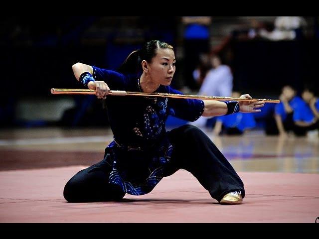 Wushu World Champion Jade Xu Gold Performance