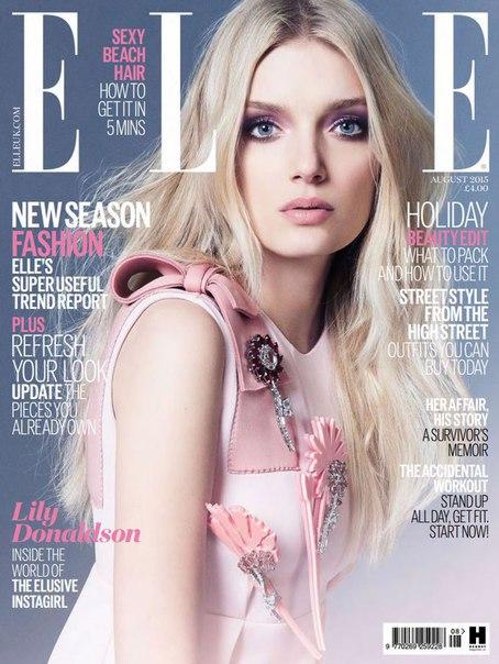 ELLE - August 2015  UK vk.com