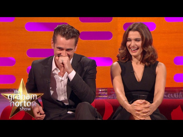 Colin Farrell Embarrassed By Terrible Haircuts The Graham Norton Show