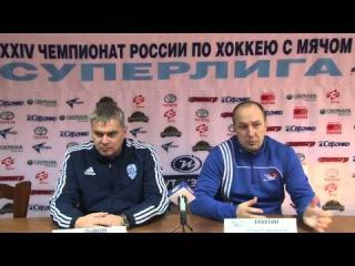 Пресс-конференция А.Г. Дьякова и Е.В. Ерахтина
