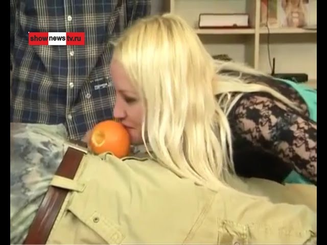 ХХХ-актёрка Люба тёрла морковку, яички трогала