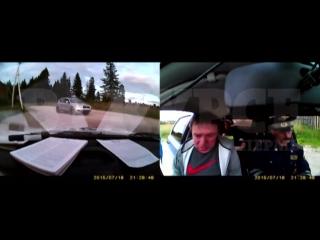 Мэр Александровска попался пьяным за рулем
