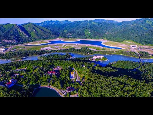 Алтай 4к Горноалтайск бирюзовая катунь озеро Ая
