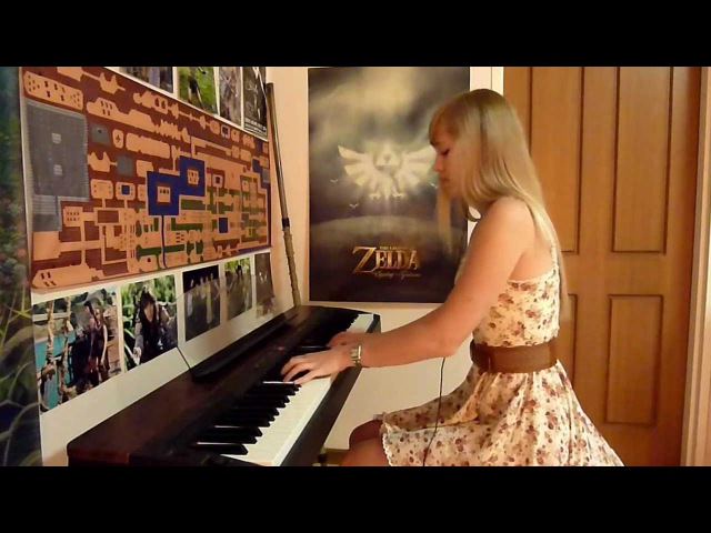 Lara plays Lisa's theme/Not Tomorrow from Silent Hill