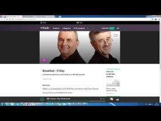 Род Хук о SkyWay  интервью на австралийском радио «891 АВС Аделаида»