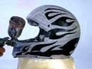 Aerografia em capacete
