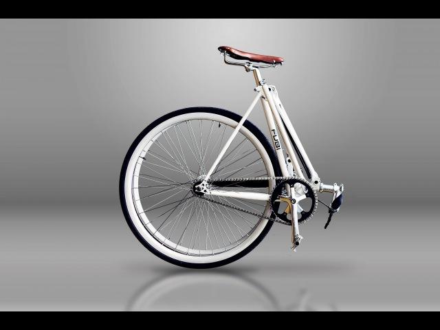 FUBi fixie the ultimate urban full size folding bike