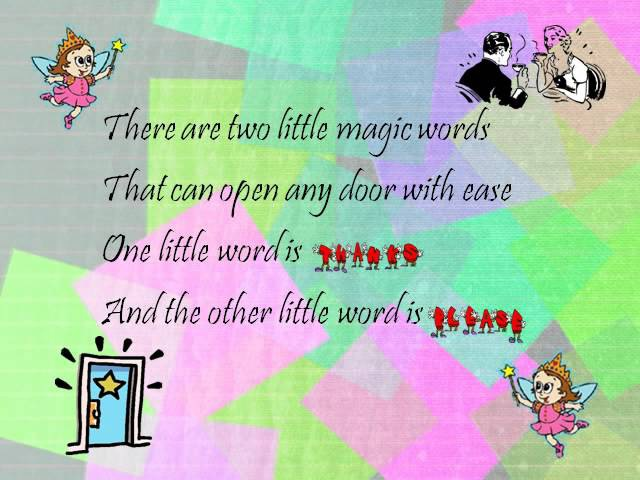 Tex Ritter Two little magic words