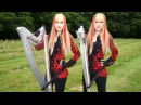 IRON MAIDEN The Trooper Harp Twins Camille and Kennerly HARP METAL