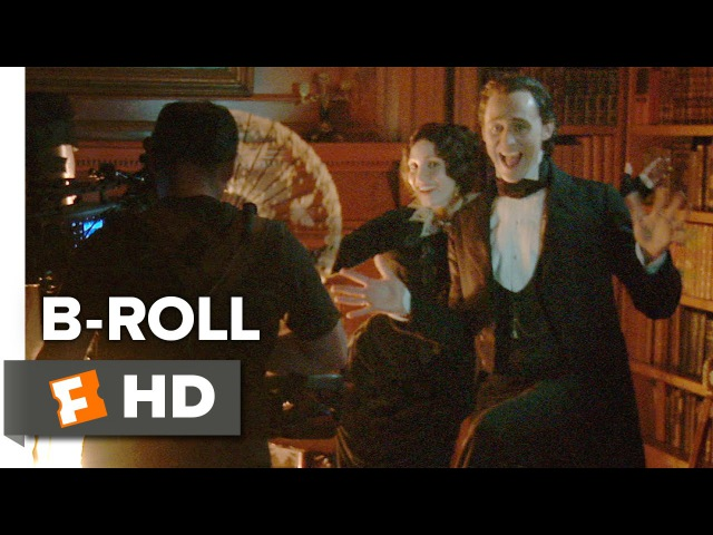 Crimson Peak B ROLL 2015 Tom Hiddleston Mia Wasikowska Horror Movie HD
