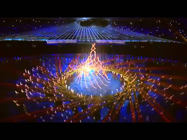 Opening ceremony of the Youth Olympic Games in Nanjing La Fura dels Baus
