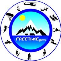Логотип FREETIME. Туризм, активный отдых (Уфа, Башкирия)