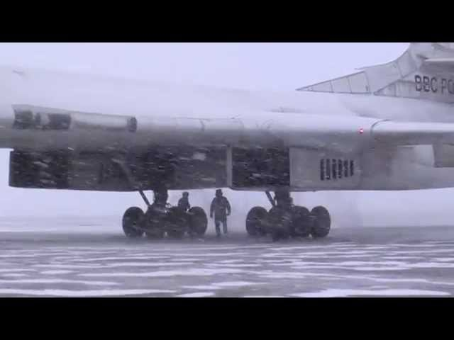Flying in Arctic on Tu 160 The White Swan Blackjack