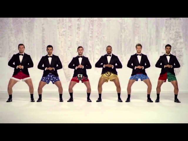 Kmart Commercial Show Your Joe Jingle Bells men In Boxers Funny Kmart TV AD