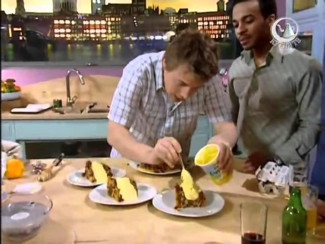 Жить вкусно с Джейми Оливером Готовим рыбу и чипсы