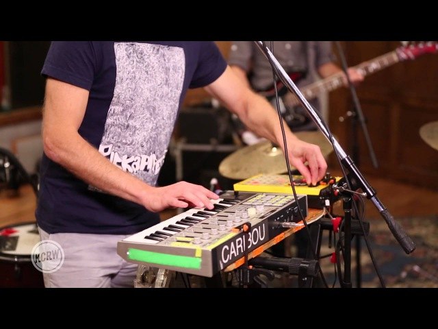 Caribou performing Our Love Live at the Village on KCRW