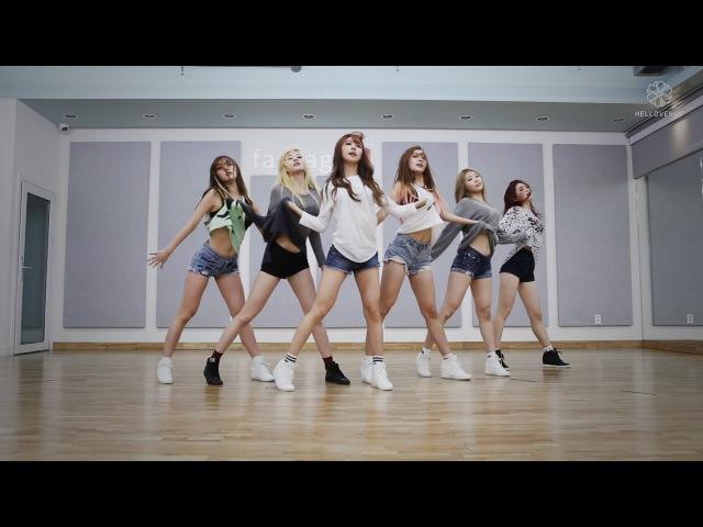HELLOVENUS 헬로비너스 - '위글위글(WiggleWiggle)' 안무 연습 영상 (Choreography Practice Video)