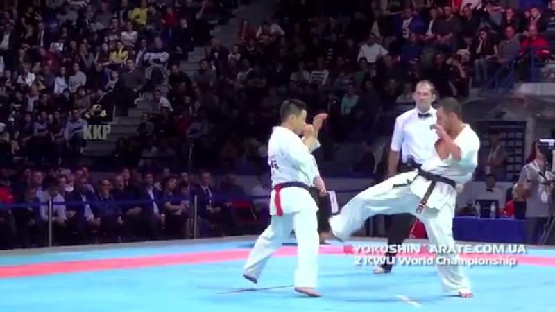Georgi Lotarov (Болгария) vs Toshhide Iwasawa (Япония).