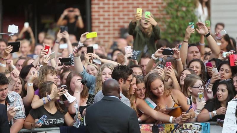 Zac Efron au Kinepolis Lomme pour lavant-première de We Are Your Friends