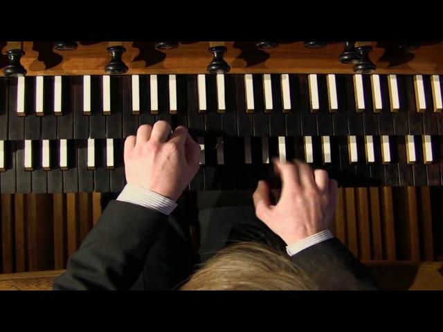 J S Bach Jesus bleibet meine Freude Orgel Axel Johannes Korb