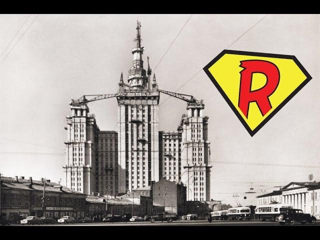 Залаз на Сталинскую высотку на Баррикадной The Stalinist skyscraper at Barrikadnaya 156m