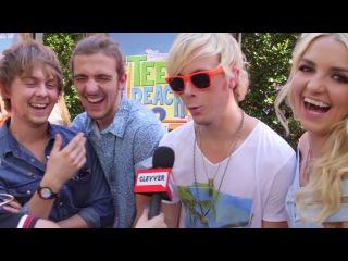 "R5 Talk ""Sometime Last Night"" & Speedos - Interview"
