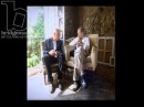 Люсьен Фрейд Clip of the Week Freud in his studio