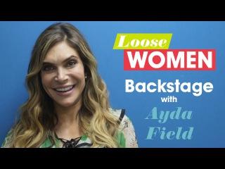 Backstage Exclusive: Ayda Field's First Selfie! | Loose Women