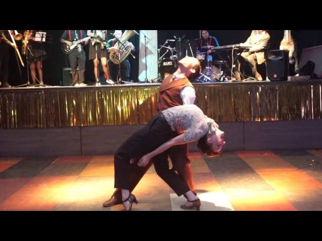 2º Swingtiago Lindy Weekend- Jb Mino Tatiana Udry - lindy hop demo.