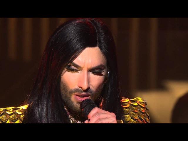 Conchita performs Rise Like a Phoenix Sydney Opera House