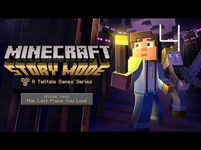 Прохождение Minecraft Story Mode [Эпизод 3 Да где же оно] №4 Эльгорд умерла [Финал]