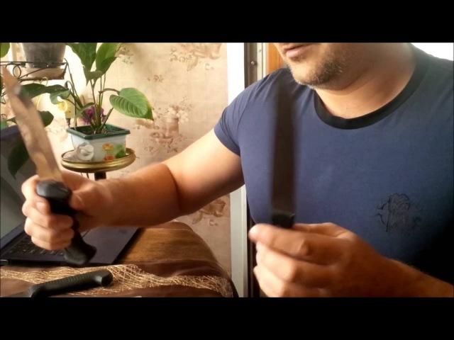 Заточка ножей. Часть 2: Базовое движение