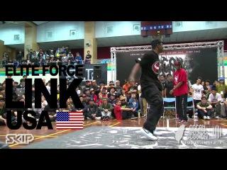Hip-Hop Judge Solo - Way, Niako, Link | 20130303 OBS VOL.7 TAIWAN FINAL
