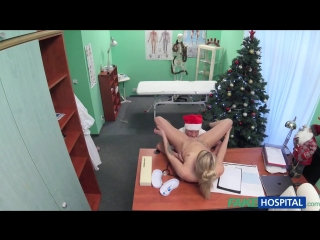 Doctor santa cums twice this year [hd 720, all sex, doctor, hospital, creampie, new porn 2015]