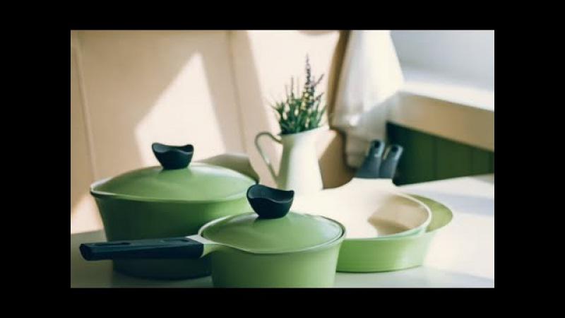 EVER GREEN - шикарная коллекция посуды с керамическим покрытием от FRYBEST