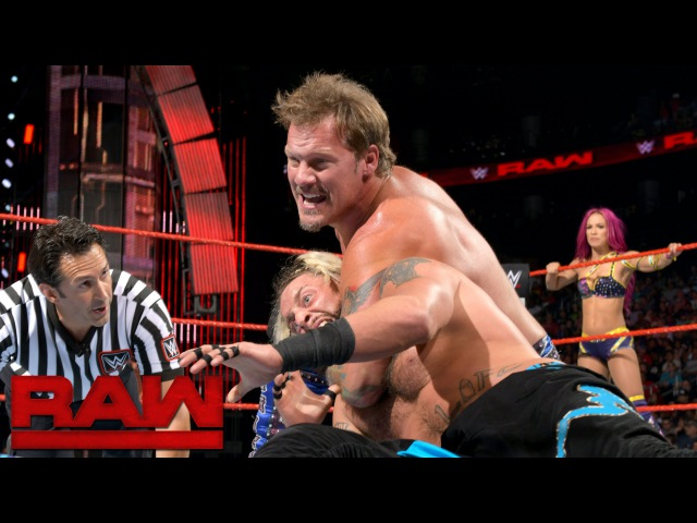 SBMKV Video Enzo Amore Sasha Banks vs Chris Jericho Charlotte Raw Aug 1 2016