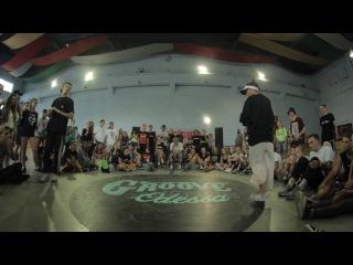 SwipeMind vs Gelya  | Hip-Hop 1\4 | Groove Avenue 2016