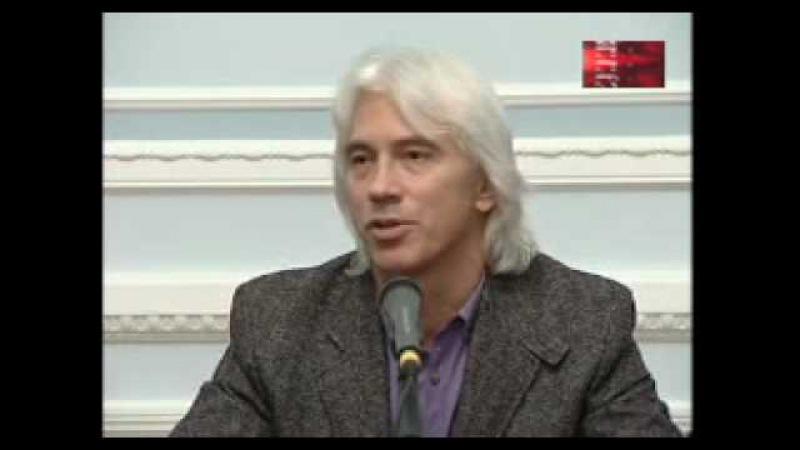 Dmitri Hvorostovsky in Velikoy Novgorod with subtitles