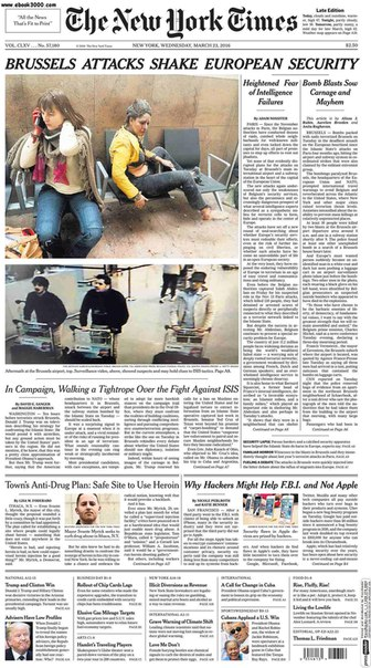The New York Times  March 23 2016