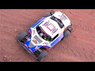 RC ADVENTURES - Total: 16s Lipo - Electric Losi 5ive T Radio Controlled Race Truck